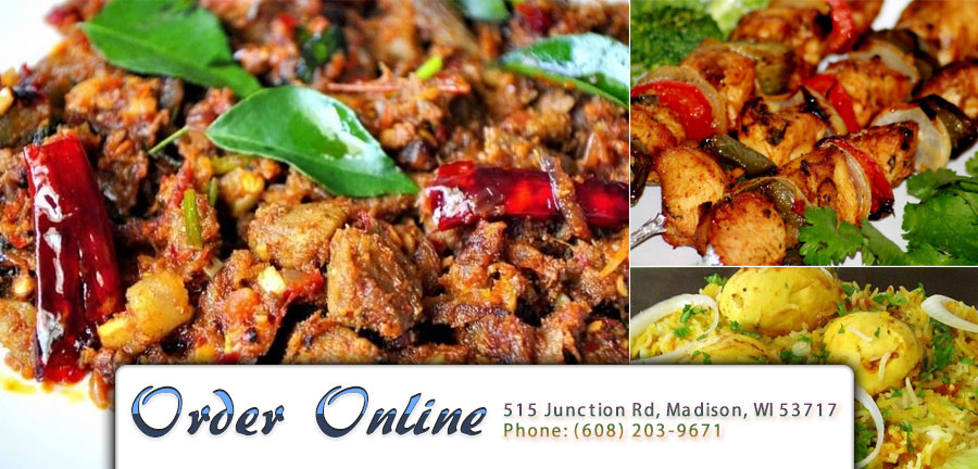 Thulasi Indian Kitchen | Order Online | Madison, WI 53717 | Indian