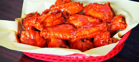 Buffalo Wings (8 pcs)