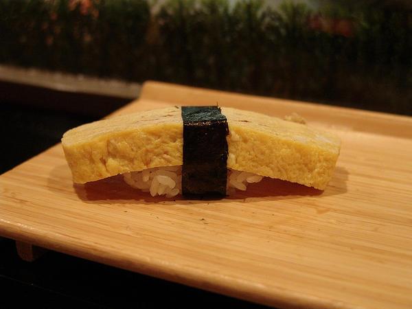 egg omelet sushi