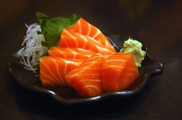 kingsake sashimi