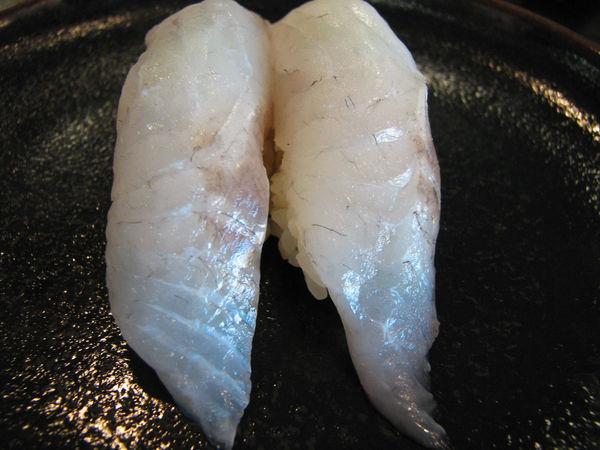 seabass sushi