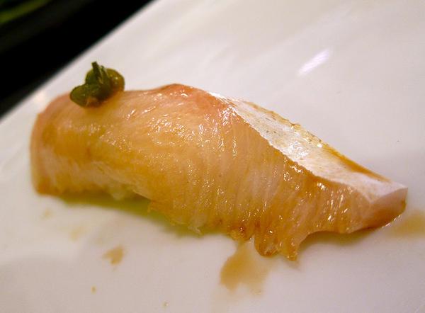Yellotail sushi
