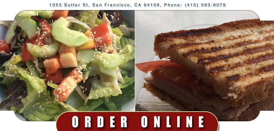 Gallery Cafe San Francisco Menu