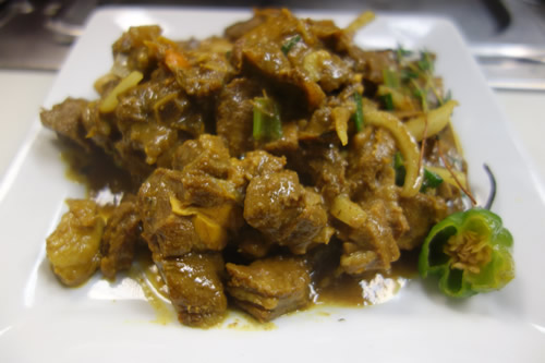 curry goat (specialty)