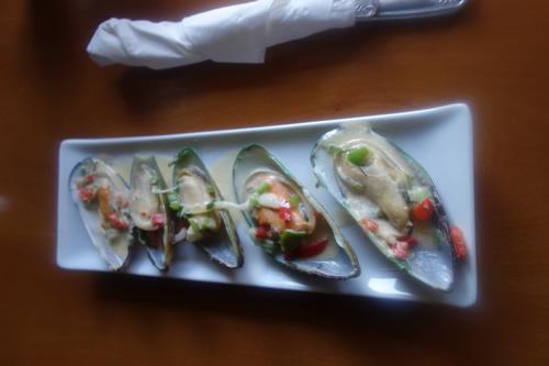 Mussels (apetizer)