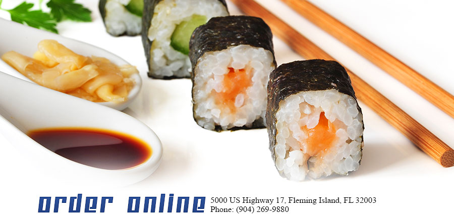 Sushi Cafe Menu Fleming Island