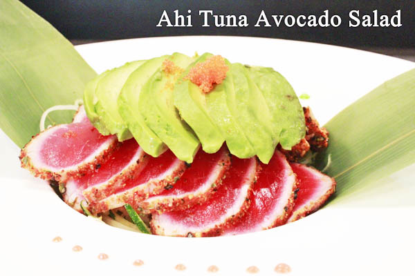 tuna avocado salad app